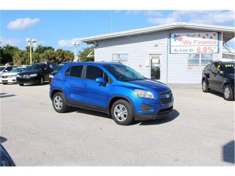 2016 Chevrolet Trax for sale at My Value Car Sales in Venice FL
