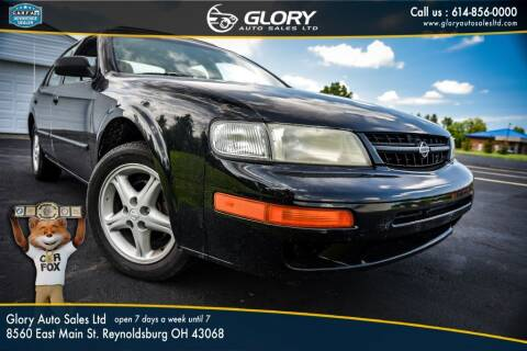 1999 Nissan Maxima for sale at Glory Auto Sales LTD in Reynoldsburg OH