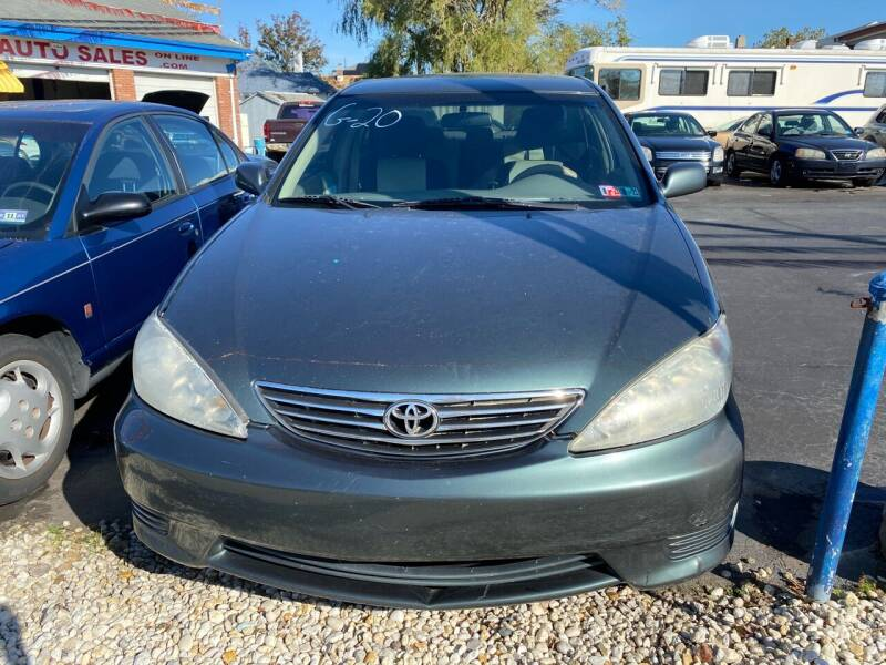 2005 Toyota Camry for sale at Diamond Auto Sales in Pleasantville NJ