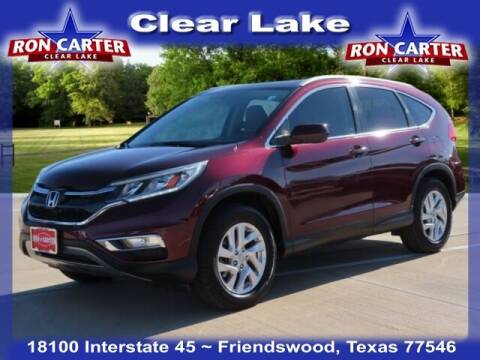 2016 Honda CR-V for sale at Ron Carter  Clear Lake Used Cars in Houston TX