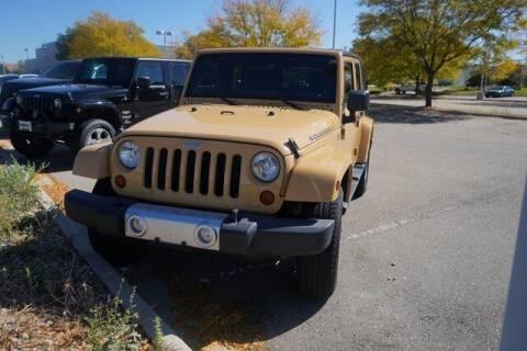 2013 Jeep Wrangler Unlimited for sale at COURTESY MAZDA in Longmont CO