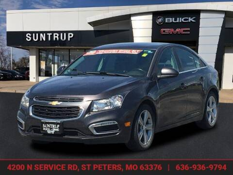 2015 Chevrolet Cruze for sale at SUNTRUP BUICK GMC in Saint Peters MO