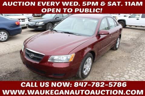 2007 Hyundai Sonata for sale at Waukegan Auto Auction in Waukegan IL
