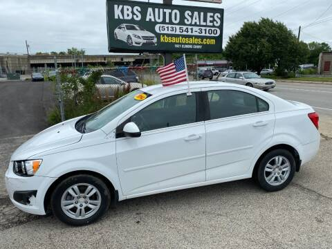 2014 Chevrolet Sonic for sale at KBS Auto Sales in Cincinnati OH