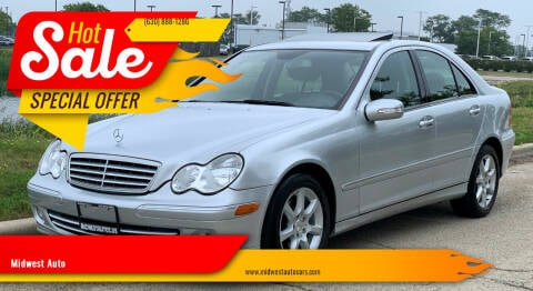 2007 Mercedes-Benz C-Class for sale at Midwest Auto in Naperville IL