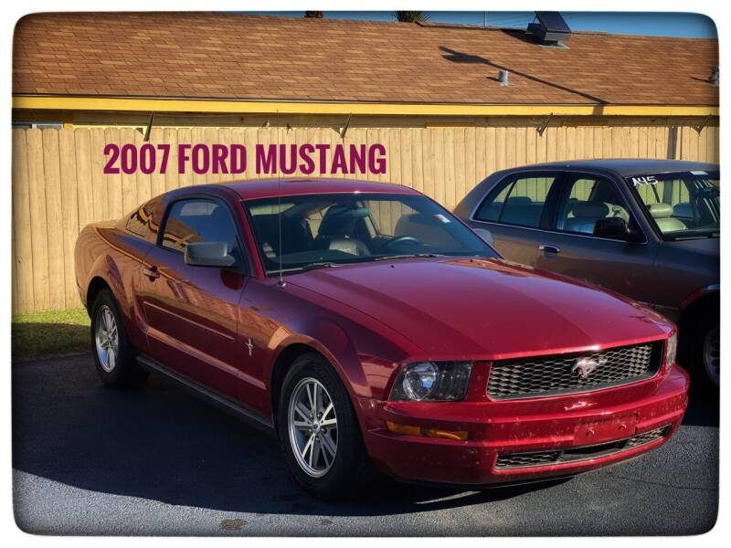 2007 Ford Mustang for sale at ASTRO MOTORS in Houston TX