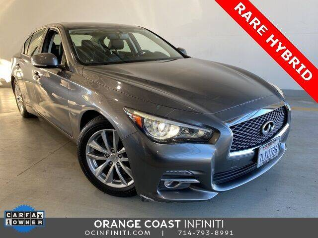 2015 Infiniti Q50 Hybrid for sale at ORANGE COAST CARS in Westminster CA