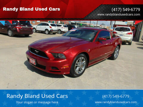 2014 Ford Mustang for sale at Randy Bland Used Cars in Nevada MO