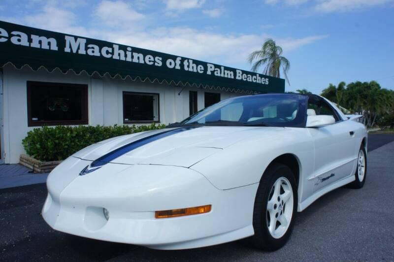 1994 Pontiac Firebird for sale at Dream Machines USA in Lantana FL