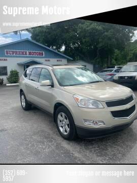 2010 Chevrolet Traverse for sale at Supreme Motors in Tavares FL