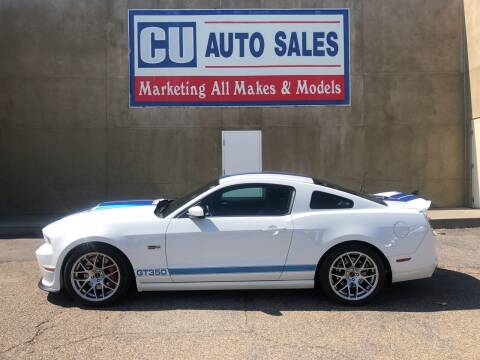 2014 Shelby GT350 for sale at C U Auto Sales in Albuquerque NM
