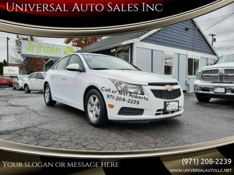 2014 Chevrolet Cruze for sale at Universal Auto Sales Inc in Salem OR