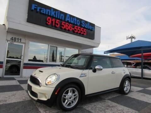 2010 MINI Cooper for sale at Franklin Auto Sales in El Paso TX