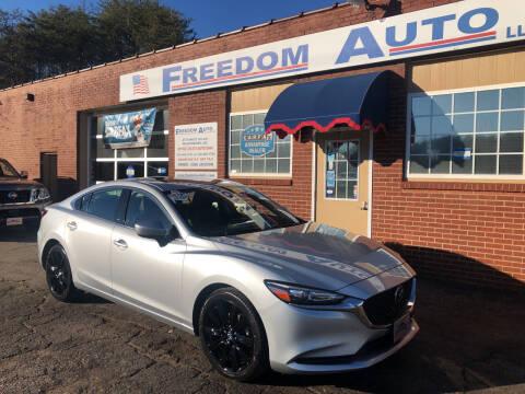 2019 Mazda MAZDA6 for sale at FREEDOM AUTO LLC in Wilkesboro NC