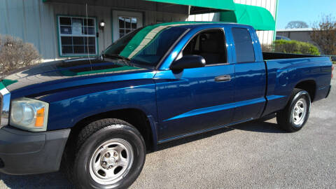 2007 Dodge Dakota for sale at Haigler Motors Inc in Tyler TX