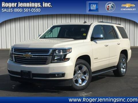 2015 Chevrolet Tahoe for sale at ROGER JENNINGS INC in Hillsboro IL