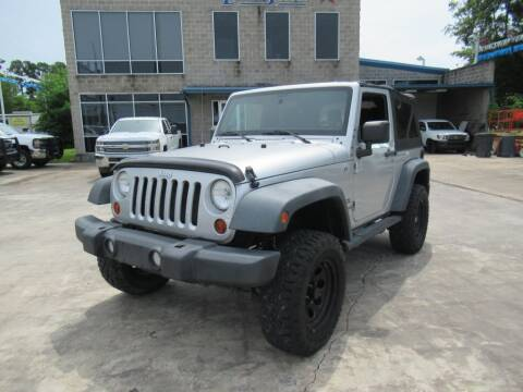 2011 Jeep Wrangler for sale at Lone Star Auto Center in Spring TX