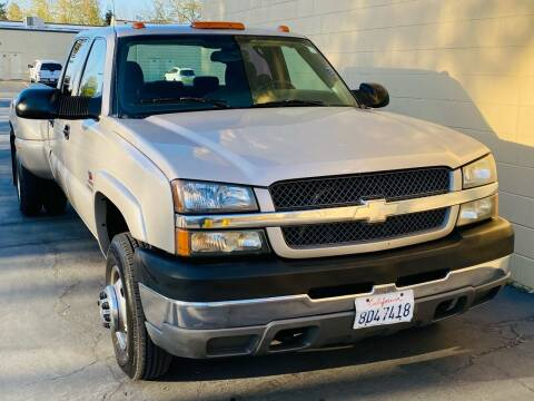 2004 Chevrolet Silverado 3500 for sale at Auto Zoom 916 Rancho Cordova in Rancho Cordova CA
