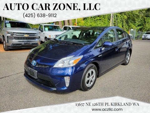 2015 Toyota Prius for sale at Auto Car Zone, LLC in Kirkland WA