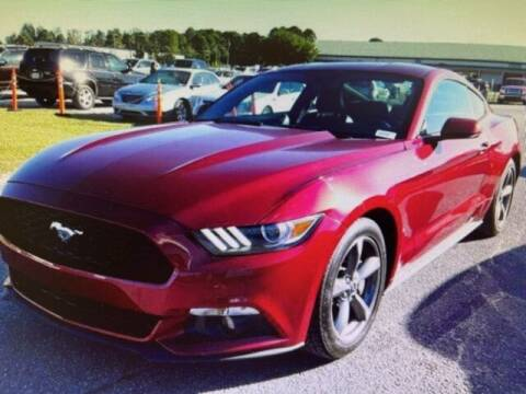 2016 Ford Mustang for sale at PHIL SMITH AUTOMOTIVE GROUP - SOUTHERN PINES GM in Southern Pines NC
