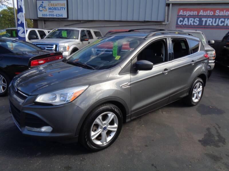 2013 Ford Escape for sale at Aspen Auto Sales in Wayne MI