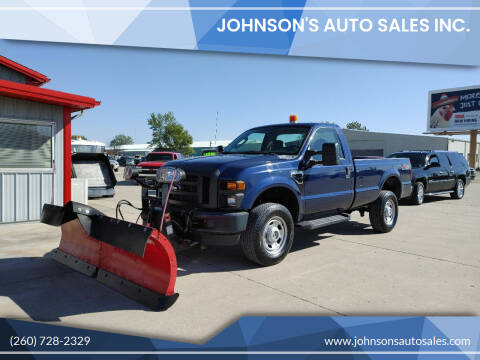 2010 Ford F-350 Super Duty for sale at Johnson's Auto Sales Inc. in Decatur IN