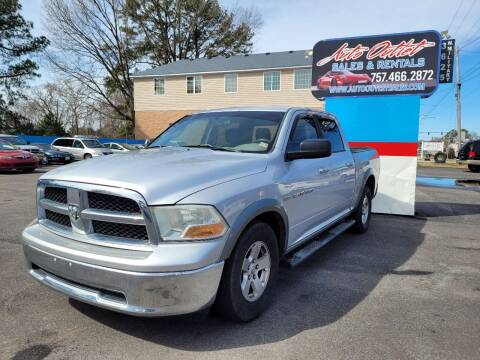 2011 RAM Ram Pickup 1500 for sale at Auto Outlet Sales and Rentals in Norfolk VA
