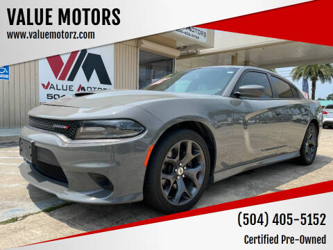 2019 Dodge Charger for sale at VALUE MOTORS in Kenner LA
