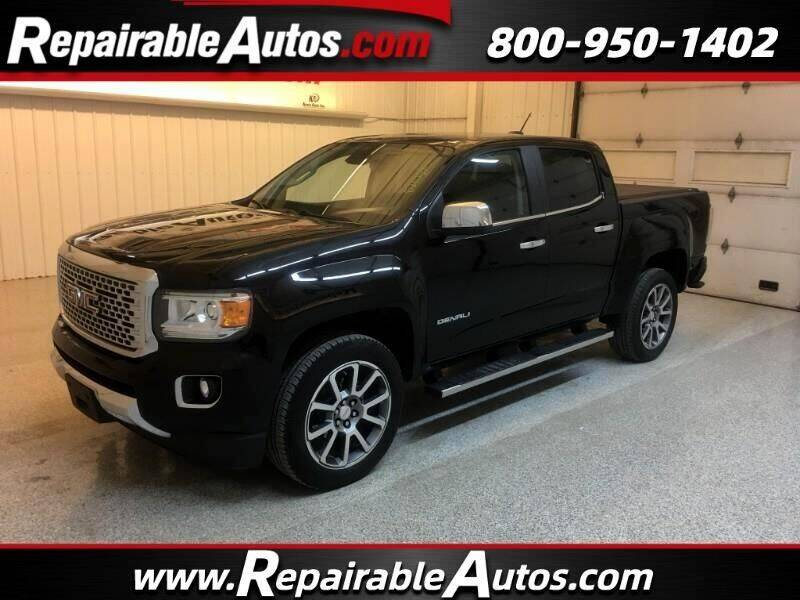 2018 GMC Canyon for sale at Ken's Auto in Strasburg ND