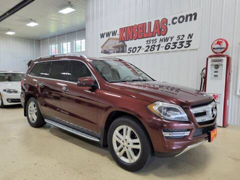 2015 Mercedes-Benz GL-Class for sale at Kinsellas Auto Sales in Rochester MN