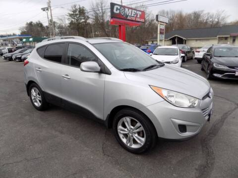 2011 Hyundai Tucson for sale at Comet Auto Sales in Manchester NH