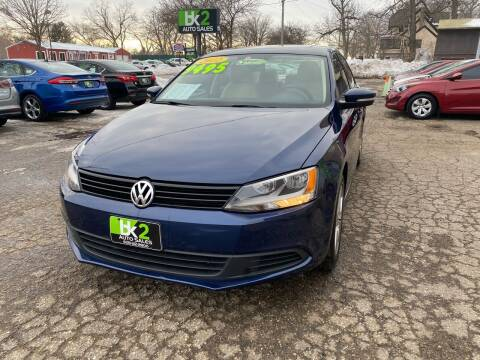 2012 Volkswagen Jetta for sale at BK2 Auto Sales in Beloit WI