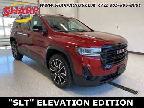 2021 GMC Acadia for sale at Sharp Automotive in Watertown SD