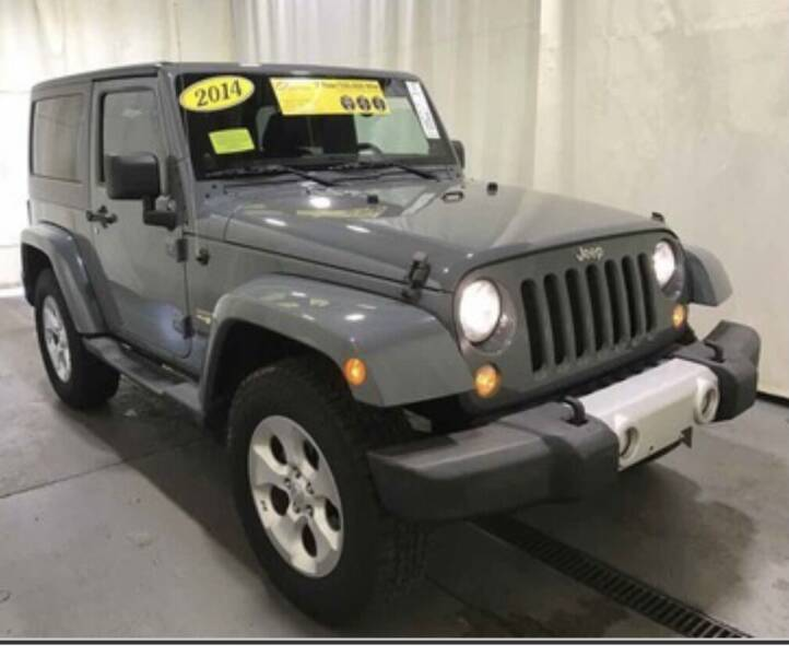 2014 Jeep Wrangler for sale at MURPHY BROTHERS INC in North Weymouth MA