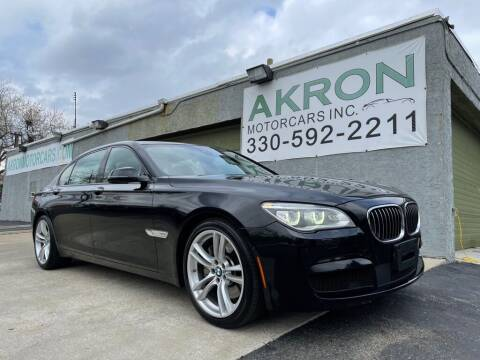 2015 BMW 7 Series for sale at Akron Motorcars Inc. in Akron OH