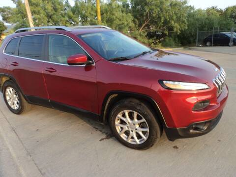 2014 Jeep Cherokee for sale at SPORT CITY MOTORS in Dallas TX