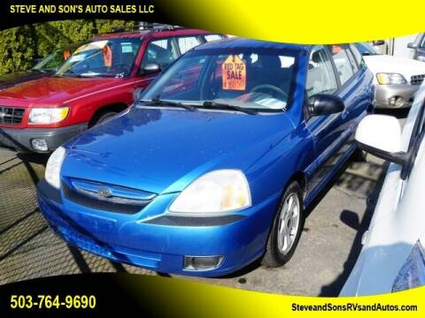 2003 Kia Rio for sale at Steve & Sons Auto Sales in Happy Valley OR