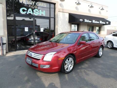 2009 Ford Fusion for sale at Wilson-Maturo Motors in New Haven Ct CT