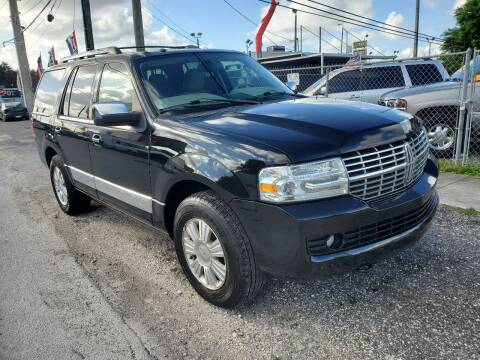 2013 Lincoln Navigator for sale at America Auto Wholesale Inc in Miami FL