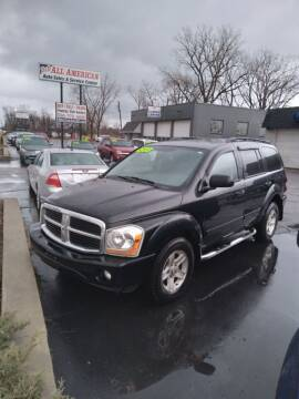 2005 Dodge Durango for sale at D and D All American Financing in Warren MI