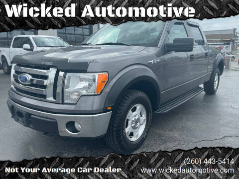 2009 Ford F-150 for sale at Wicked Automotive in Fort Wayne IN