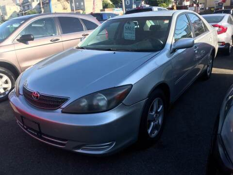 2003 Toyota Camry for sale at White River Auto Sales in New Rochelle NY