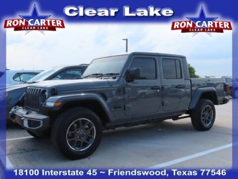 2020 Jeep Gladiator for sale at Ron Carter  Clear Lake Used Cars in Houston TX