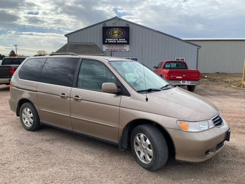 2004 Honda Odyssey for sale at BERG AUTO MALL & TRUCKING INC in Beresford SD