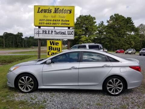 2014 Hyundai Sonata for sale at Lewis Motors LLC in Deridder LA