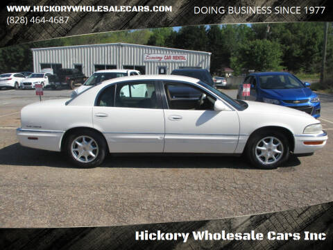 2001 Buick Park Avenue for sale at Hickory Wholesale Cars Inc in Newton NC