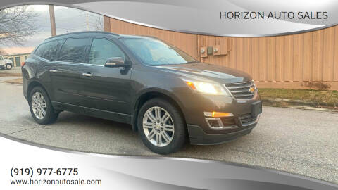 2013 Chevrolet Traverse for sale at Horizon Auto Sales in Raleigh NC