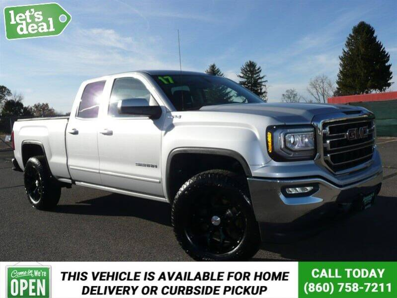2017 GMC Sierra 1500 4x4 SLE 4dr Double Cab 6.5 ft. SB - East Windsor CT