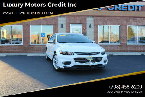 2016 Chevrolet Malibu for sale at Luxury Motors Credit Inc in Bridgeview IL