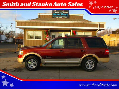 2007 Ford Expedition for sale at Smith and Stanke Auto Sales in Sturgis MI